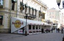 Летняя веранда Hard Rock Cafe