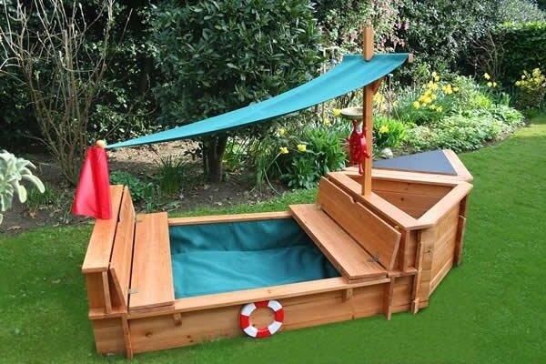 Детская площадка - песочница Корабль