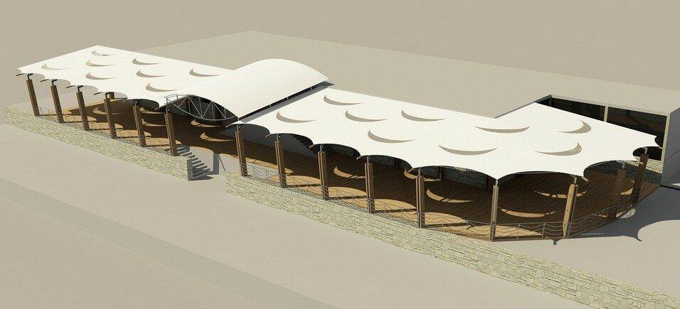 проект летней веранды Shore-house